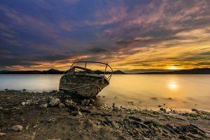 sky nature boat vehicle