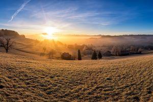 sky panorama landscape sunlight