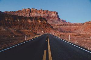 sky road samalive mountains landscape grand canyon
