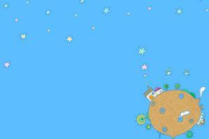 sky stars illustration