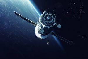 space art space vehicle digital art vadim sadovski