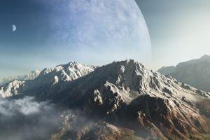 space landscape planet