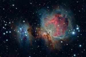space nebula universe stars
