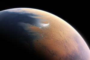 space planet mars