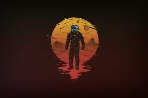 space space art astronaut