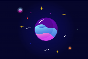 space vector minimalism simple background