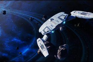 spaceship science fiction star trek