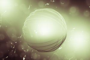 sphere digital art hampus olsson abstract