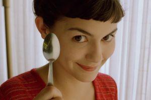spoon amélie poulain movie poster audrey tautou women movie scenes