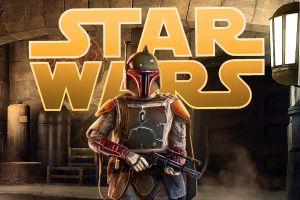 star wars villains blaster artwork star wars boba fett bounty hunter