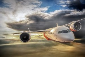 storm rolls-royce aircraft landscape turbine airplane