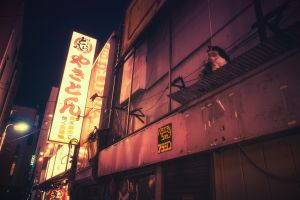 street light street city