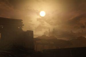 sun rays video games screen shot apocalyptic fallout: new vegas