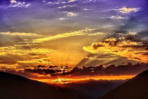 sunlight sky dark nature landscape sunrise