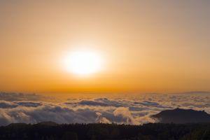 sunset panorama landscape panorama sunset