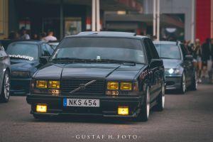 swedish cars gustaf h sedan vehicle car numbers lights volvo 740 sweden swedish volvo