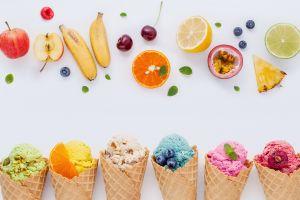 sweets food ice cream fruit