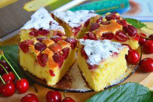 sweets fruit cherries food cake
