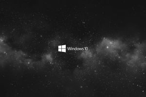 technology white minimalism windows 10 technology black