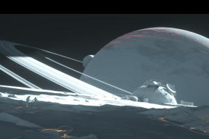 technomancer science fiction colony ships 3d graphics science fiction digital art space art planet digital art