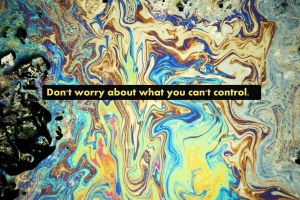 text psychedelic typography motivational