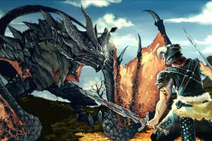 the elder scrolls v: skyrim dragonborn dragon the elder scrolls