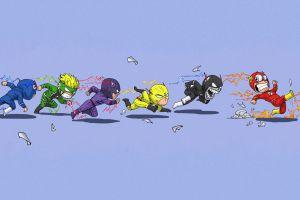 the flash humor artwork