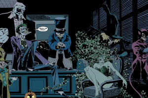 the long halloween batman dc comics
