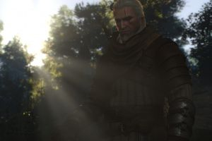 the witcher geralt of rivia screen shot screen shot the witcher 3: wild hunt video game characters