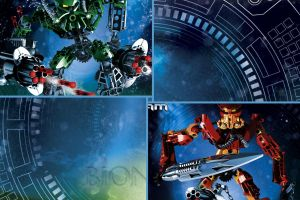 toa collage blue bionicle