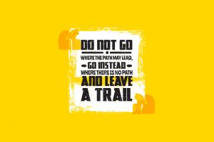 typography yellow background text motivational quote