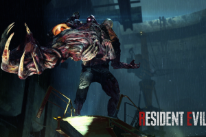 tyrant zombies games art resident evil 2 video games