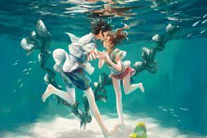 underwater anime studio ghibli anime boys anime girls spirited away