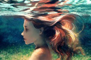underwater yuumei water