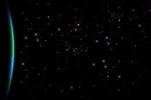 universe earth space stars planet digital art pixelated black background pixel art pixels meteors