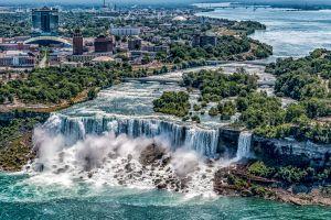 usa waterfall river niagara falls city