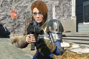vault dweller pc gaming fallout 4 screen shot fallout 4 bethesda softworks fallout