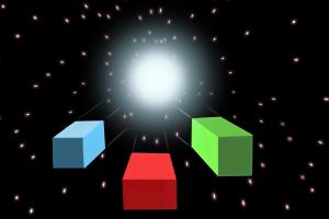 vector stars rgb space lightspeed