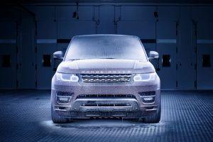 vehicle car ice range rover