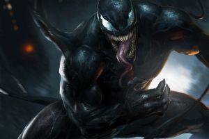 venom marvel comics artwork