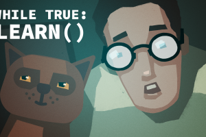 video game art video games while true: learn()