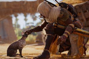 video games assassins creed: origins bayek ubisoft assassin's creed