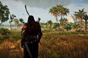 video games bayek assassin's creed assassins creed: origins ubisoft