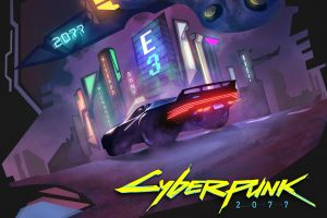 video games cd projekt red cyberpunk 2077 synthwave
