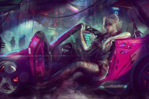 video games cyberpunk 2077 cirilla fiona elen riannon video game art