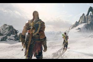 video games god of war 4 atreus screen shot santa monica studio kratos god of war (2018) god of war