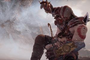 video games god of war screen shot kratos