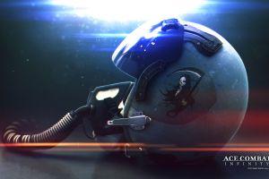 video games helmet ace combat video game art