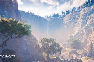 video games horizon: zero dawn nature