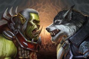 video games kyle herring world of warcraft fantasy art fan art